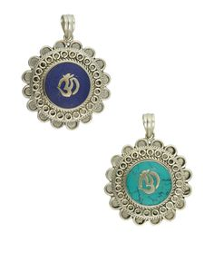 Beautiful Om Gau Box Pendant- spiritual jewelry brought to you by Buddha Groove.