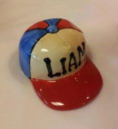 It's Baseball Season - paint a ball cap bank