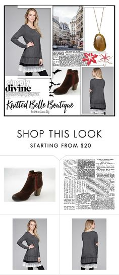 """Knitted Belle Boutique 1"" by damira-dlxv ❤ liked on Polyvore"
