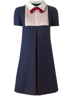 To find out about the Navy Tie Lapel Short Sleeve Pleated Dress at SHEIN, part of our latest Day Dresses ready to shop online today! Day Dresses, Dress Outfits, Fashion Dresses, Girls Dresses, Short Sleeve Dresses, Pleated Dresses, Valentino Dress, Valentino Couture, Outfit Trends