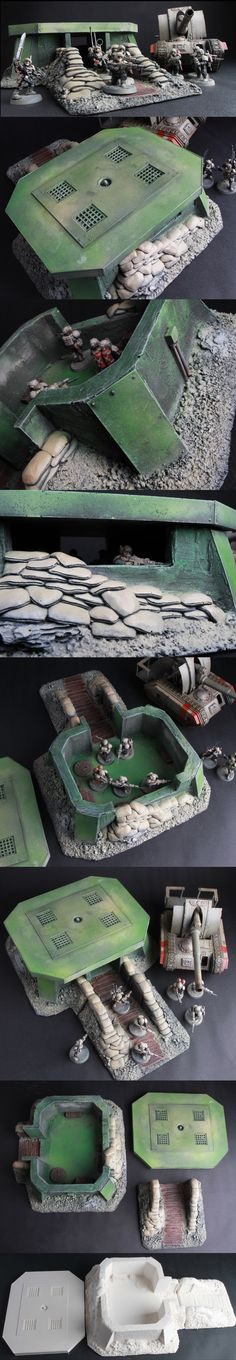 Modular Bunker and trench