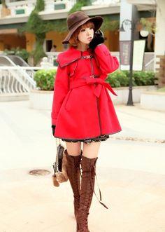 Soooo want that coat & boots *x* <3