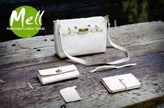 Handmade natural leather bags From Mell