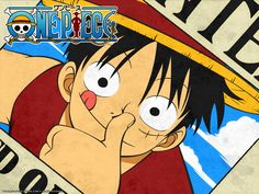Luffy Wanted Poster-One Piece Wallpaper One Piece Anime, One Piece Ex, One Piece Images, One Piece Luffy, Zoro, Monkey D Luffy, Itachi, Figurine One Piece, The Pirate King