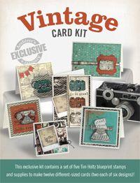 Exclusive Vintage Card Kit