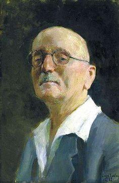 Self-Portrait, 1953  Igor Grabar
