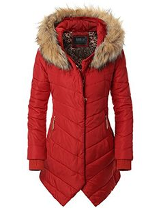 Doublju Womens Winter Hooded Fur Collar Thick Padded Long Coat Down Jacket Red Small Doublju http://www.amazon.com/dp/B00PY3JGB2/ref=cm_sw_r_pi_dp_wv-0ub12VXCNB