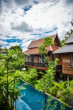 Hongkhao Villa offers a Lanna-style boutique resort located in Chiang Mai, close to the Mae Ping River. Small Boutique Hotels, Elephant Nature Park, Double Room, Great Hotel, Reception Areas, Smoking Room, Chiang Mai, Hostel, Cozy House