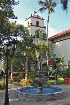 Mission San Buenaventura, Ventura, California by David McSpadden