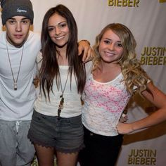 Bethany and Justin Bieber:).