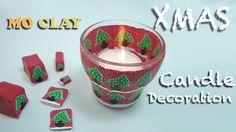 Diy Holiday Decor - Christmas Candle holder - Portacandela per Natale - Portavela navideño