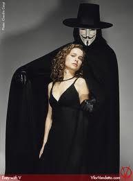 Natalie Portman and Hugo Weaving, in V for Vendetta. V For Vendetta Evey, V For Vendetta Comic, V For Vendetta Tattoo, V For Vendetta Quotes, V For Vendetta 2005, The Wachowskis, Hugo Weaving, Batman Tattoo, Joker Art
