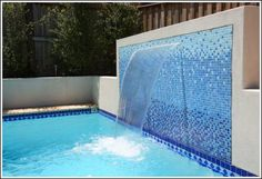 Interior Water Walls   Simple Water Feature Sheer Descent Water Flow Water Features - Sunrise ...