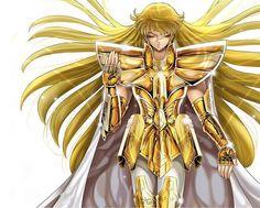 Virgo, Gold Saints official illustrations
