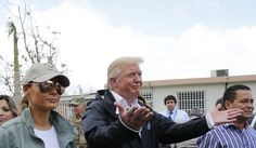 """Trump criticized the U.S. territory in a series of tweets Thursday. He says there is a """"Total lack of accountability""""  and electric and all infrastructure was disaster before hurricanes. (PBS News hour, 10.12.17)"""