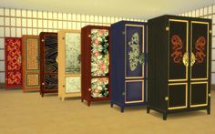 to - Asian Bedroom Set Japanese Furniture, Asian Furniture, Sims 4 Cc Furniture, Furniture Decor, Sims 4 Teen, Sims Cc, Asian Bedroom, Sims 4 Cc Folder, Sims 4 Family