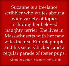 Suzanne is a freelance scribbler who writes about a wide variety...www.smdewitt.com