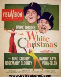 White Christmas Window Card Movie Poster 1954. Watch this every year around Christmas time.