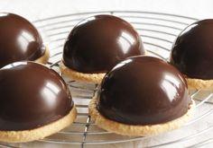 Dômes chocolat caramel sans gluten – Sunny Délices