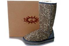 Ugg Classic Tall Boots 5815 Phoenix Grey Sale  $87.00