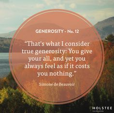True #generosity costs you nothing. And it can mean everything to someone else. #mindfulmatter