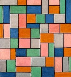 Theo van Doesburg - Composition en dissonances.