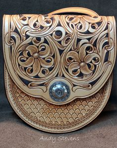 Andy Stevens Saddlery : Custom Leather Accessories