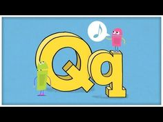 "The StoryBots celebrate how cool the letter ""Q"" is, and sing about questions, quilts, and quarterbacks! The StoryBots are curious little creatures who live b. Alphabet Video, Alphabet Songs, Phonics Videos, Phonics Song, Preschool Music, Preschool Letters, Preschool Ideas, Letter Sound Song, Abc Songs"