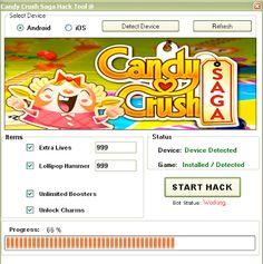 Candy Crush Saga Hack Tool