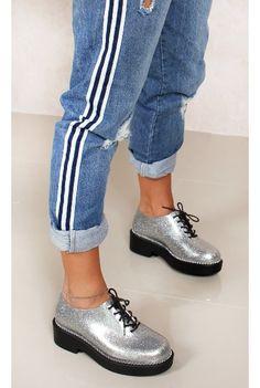 Melissa Grunge Prata Fashion Closet - fashioncloset