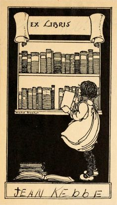 .I love this bookplate.