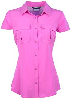 Columbia Womens Arrowhead Trail II OmniWick ShirtFuchsiaLarge >>> You can get additional details at the image link.