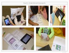 Interactive Student Projects-This teacher had students incorporate interactive elements and create their own QR codes for their research projects!