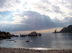 Taormina sea