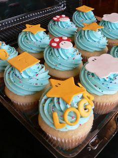 Biddy Bear Cupcakes: Super Mario Cupcakes