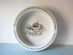 Your place to buy and sell all things handmade Rabbit Book, Dinner Bowls, Christening Gifts, Peter Rabbit, Beatrix Potter, Cottage Chic, Little People, Baby Shower Gifts, Decorative Plates