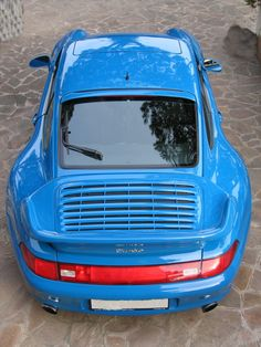 GORGEOUS Riviera Blue Porsche 993 Turbo. #everyday993 #Porsche