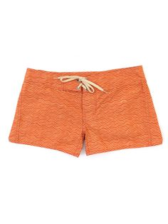 Women's Wavy Boardshorts in Sunset