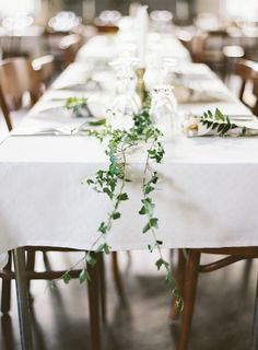 Vine Table Runner
