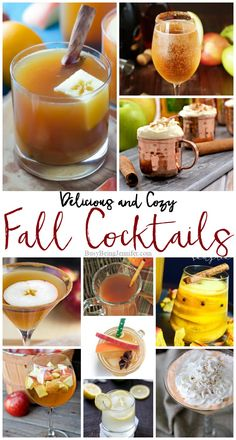 Cozy and Delicious Fall Cocktails | Busy Being Jennifer | Bloglovin'