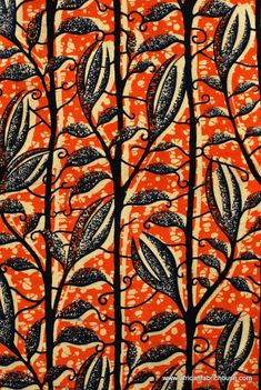 Beautiful African Textile Designs from African Fabric House print pattern