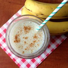 Banaan-kaneel smoothie