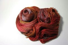 Silk Merino in Autumn Shades  One of a Kind by Lichtfaden on Etsy, €24.00