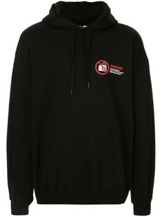 Doublet Logo Drawstring Hoodie In Black Hawaiian Print Shirts, Shirt Embroidery, Doublet, Cotton Logo, Hoodies, Sweatshirts, Black Hoodie, Black Cotton, Size Clothing
