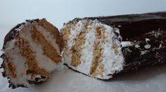 Bisküvili Kütük Pasta www.afiyetle.com
