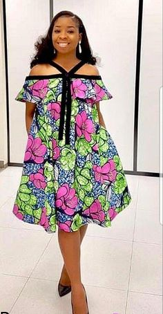 Call, SMS or WhatsApp if you want this style, needs a skilled tailor to hire or you want to expand more on your fashion business. African Fashion Ankara, Ghanaian Fashion, Latest African Fashion Dresses, African Print Fashion, Africa Fashion, Short African Dresses, African Print Dresses, African Attire, African Outfits
