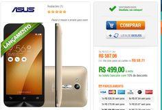 Smartphone Asus Zenfone Go Quad Core Android 5.1 Tela 45 8GBCâmera 5MP 3G Dual Chip Dourado << R$ 49900 >>