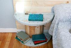 decogarden 518 dormitorio elegante y sereno Ideas para reciclar una bobina de cables
