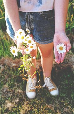Flowers and converse
