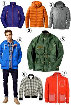 Look of the Week: Men's Sporty-Chic Spring Jackets